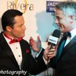 Jeff Vonder Haar being interviewed