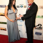 5 months pregnant Elizabeth Bress and Oskar Rivera