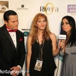 Oskar Rivera, TV Azteca, Elizabeth Bress